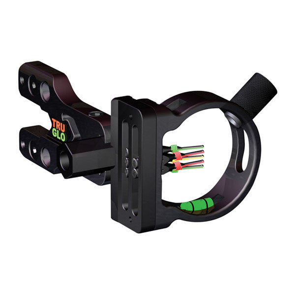 TRUGLO Brite-Site Xtreme Archery Sight, 5 Pin (5x.029 Dia) w/ Light (TG550XB)