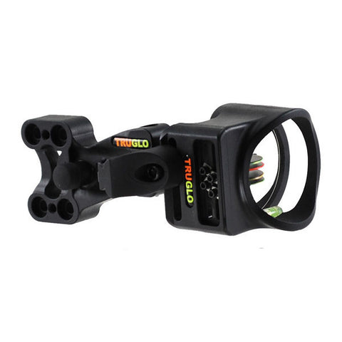 TRUGLO Carbon XS Archery Sight, 4 Pin (4x.019) w/ Light (TG5704B)
