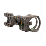 TRUGLO Carbon XS Archery Sight, 4 Pin (4x.019 dia.) w/ Light, Lost AT Camo (TG5704F)