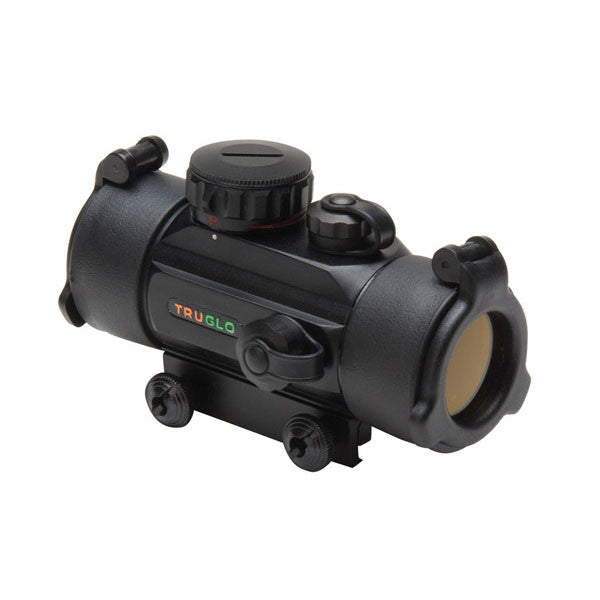 TRUGLO Dual Color 1x30 Red-Dot Sight, 5 MOA Dot Red/Green Reticle, Black (TG8030DB)