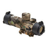 TRUGLO Gobble Stopper 1x30 Dual Color Red-Dot Sight, Shotgun Red/Green Reticle, Camo (TG8030GA)