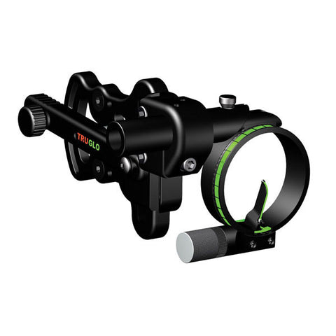 TRUGLO Pendulum Sight, Adjustable Bracket, Green (.029 Dia) w/ Light (TG701)