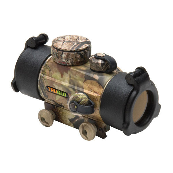 TRUGLO Traditional 1x30 Red-Dot Sight, 5 MOA Dot Red Reticle, Camo (TG8030A)