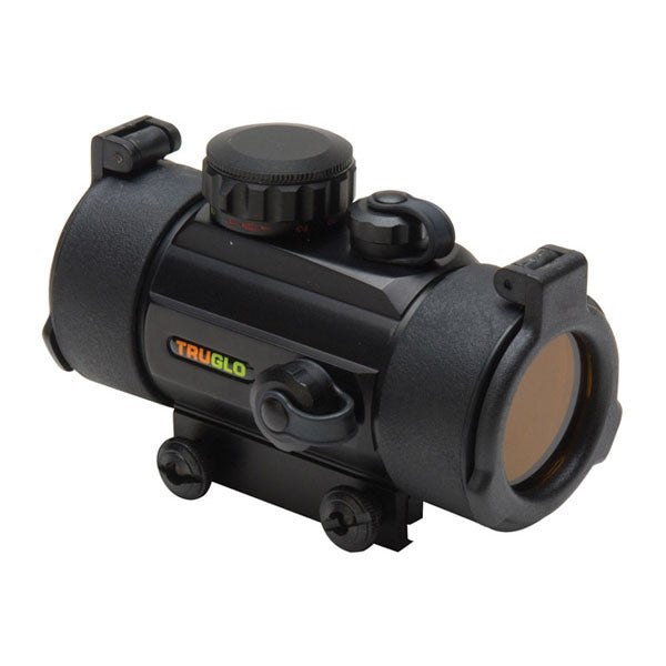 TRUGLO Traditional 1x40 Red-Dot Sight, 5 MOA Dot Red Reticle, Black (TG8040B)
