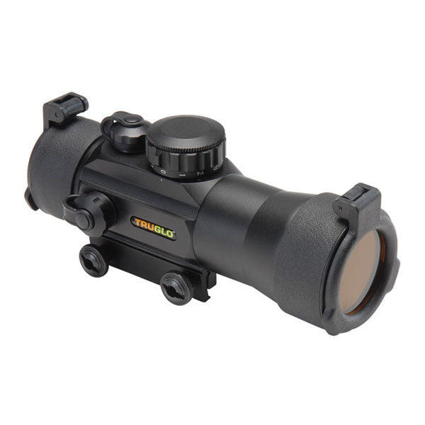 TRUGLO Traditional 2x42 Red-Dot  Sight, 2.5 MOA Dot Red Reticle, Black (TG8030B2)
