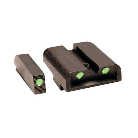 TRUGLO Tritium Handgun Sight, Front Green, Rear Green, S&W M&P (TG231MP)