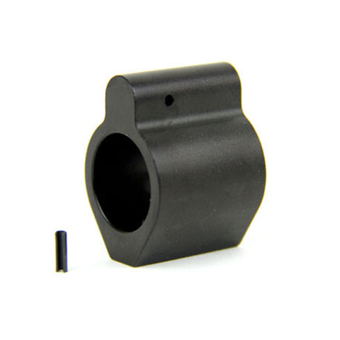 TacFire AR15/.750 Micro/Low Profile Gas Block/Mil-Spec/Aluminum W/Pin (MAR001A)