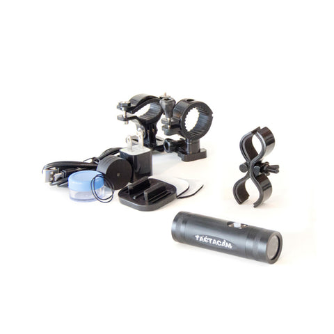 TACTACAM 2 Gun Package Flat Blk Mountd Camera TA-FB-GUN