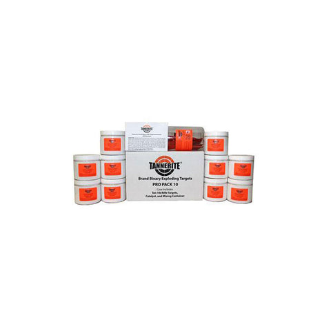 TANNERITE ProPack 10 1lb Targets 10-Pack (PP10)