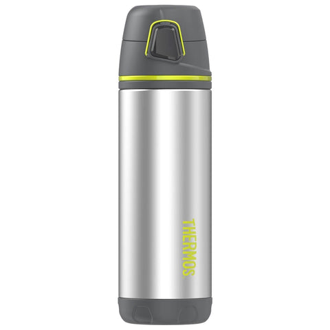THERMOS Element5 16oz Stainless Steel Charcoal-Lime Backpack Bottle (TS4504CH4)