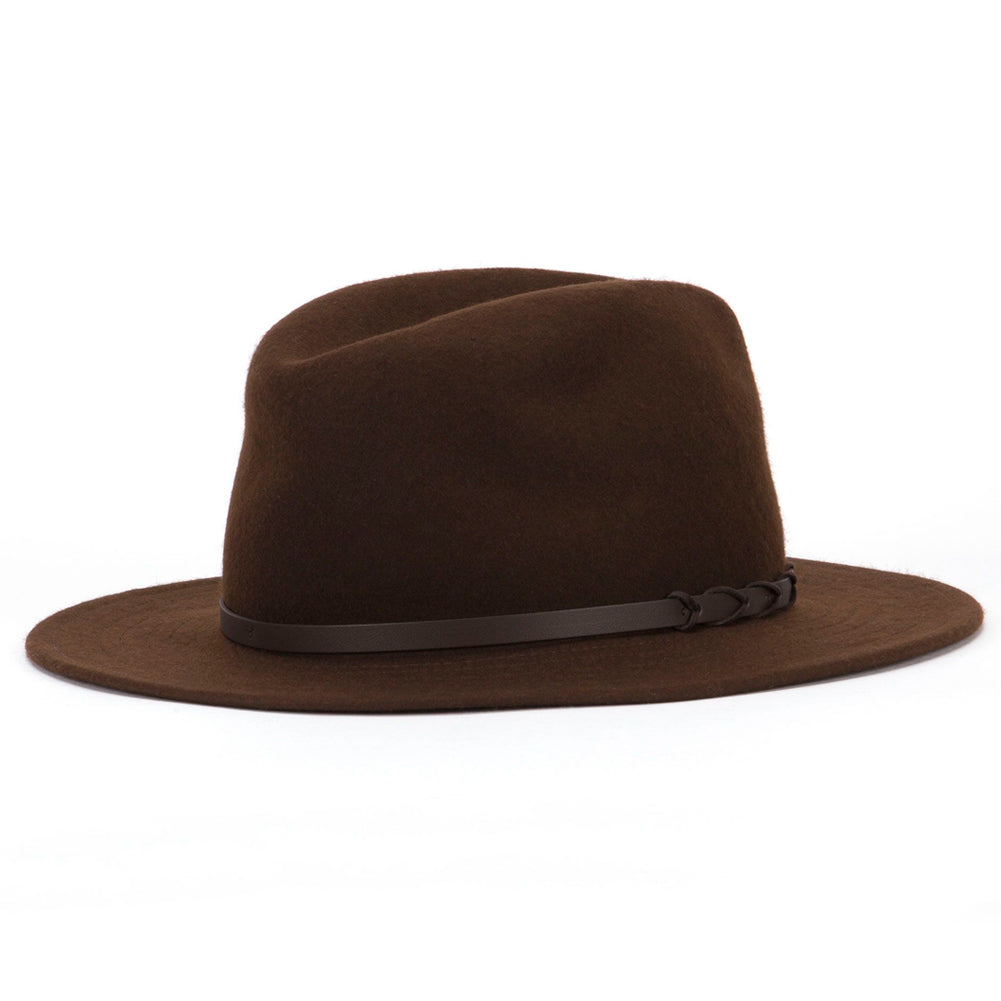 TILLEY ENDURABLES Twf1 Montana Fedora Brown Hat (10WF02HTWF1BR ... 1e8dbb82f62e