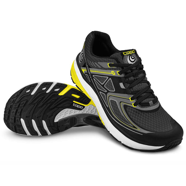 TOPO ATHLETIC Ultrafly Black-Yellow Shoe M016-BLKYEL