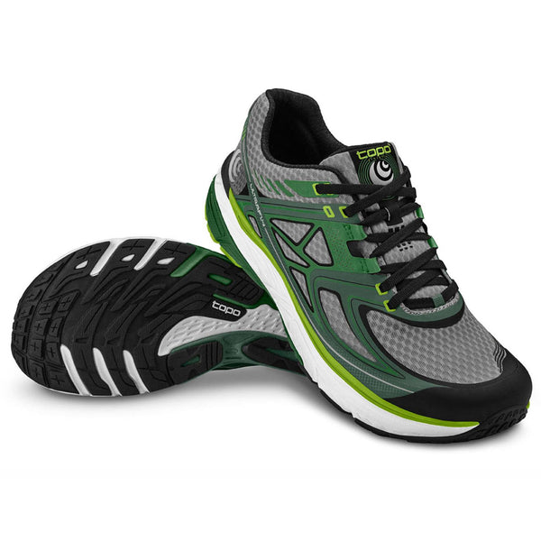 TOPO ATHLETIC Ultrafly Green-Grey Shoe M016-GREGRY