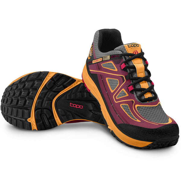 TOPO ATHLETIC Hydroventure Burg-Peach Shoe W015-BURPCH