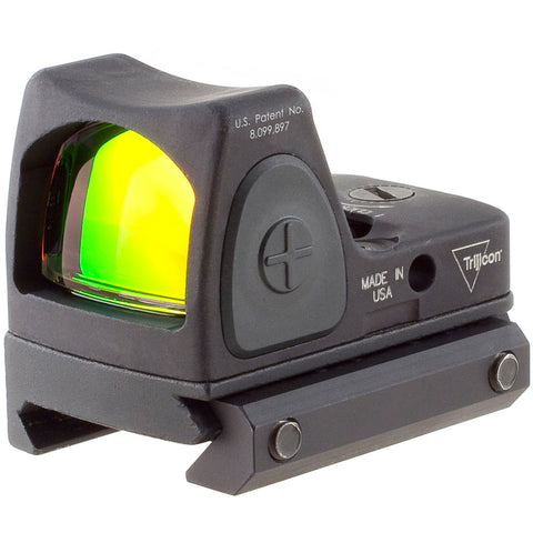 TRIJICON RMR Type 2 3.25 MOA Red Dot w/RM33 Picatinny Rail Mount Adjustable LED Sight (RM06-C-700673)
