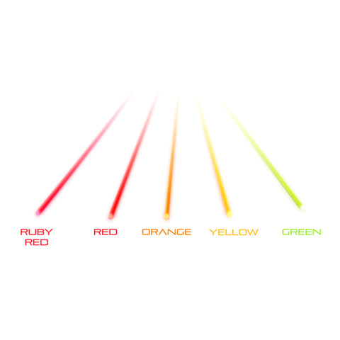 TRUGLO Ruby Red .060 Fiber Red, Orange, Yellow, Green Replacement Fiber (TG05C)