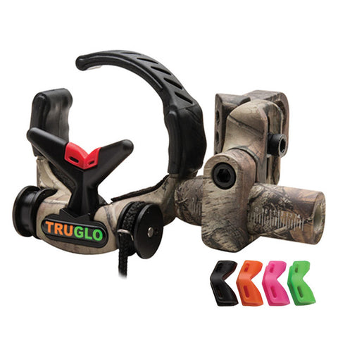 TRUGLO Downdraft Ambidextrous Realtree Xtra Drop-Away Arrow Rest (TG630J)