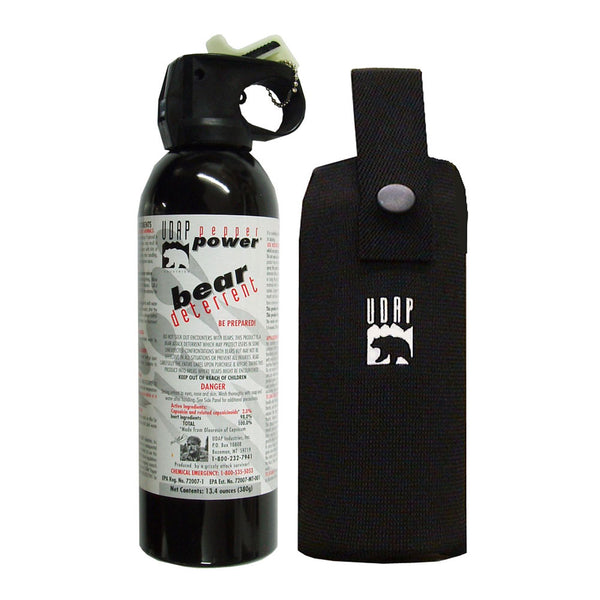 UDAP Super Magnum 13-4oz Bear Spray 18HP