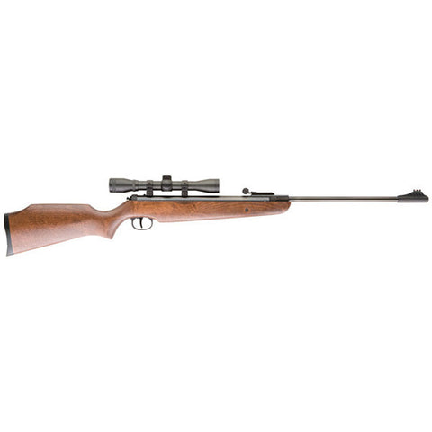 UMAREX Air Hawk Air Rifle, 177PEL 1000 FPS w/4x32 Scope, Single Shot (2244001)
