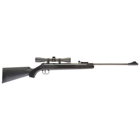 UMAREX Blackhawk Air Rifle, 177PEL 1000 FPS Blue Synthetic 4x32 Scope (2244010)