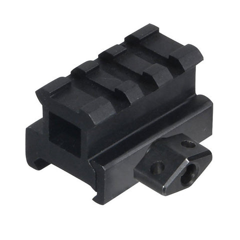 UTG 3-Slot Medium Profile Riser Mount, Black (MNT-RS08S3)