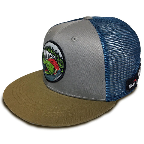 UMPQUA Tongass Alive Silver Blue Hat 75392