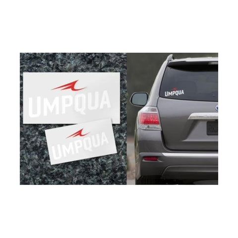 UMPQUA 75476 Cut Out Small Decal