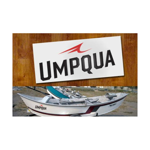 UMPQUA 75477 Cut Out Medium Decal