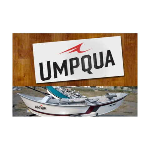 UMPQUA 75478 Cut Out Large Decal