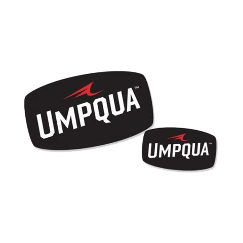 UMPQUA 75479 Cut Out XL White Decal