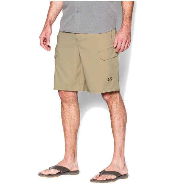 UNDER ARMOUR 1244207-232 Mens Enamel Fish Hunter Cargo Shorts