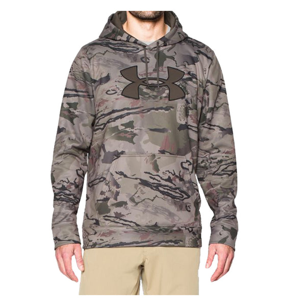 UNDER ARMOUR 1272203-900 Mens Storm Camo RRB Big Logo Hoodie