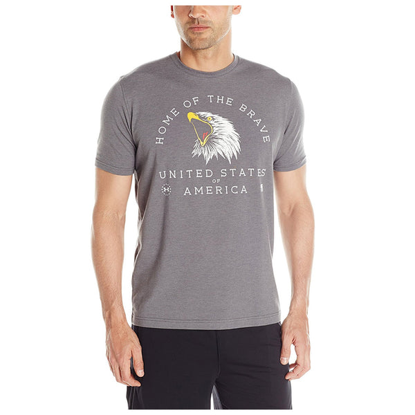 UNDER ARMOUR Mens Freedom Heather T-Shirt 1276954-090