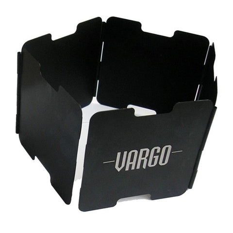 VARGO Aluminum Windscreen, Black (T-422)