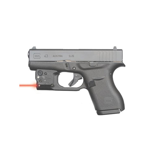 VIRIDIAN Reactor 5-R Glock 43 Red Laser Sight (R5-R-G43)