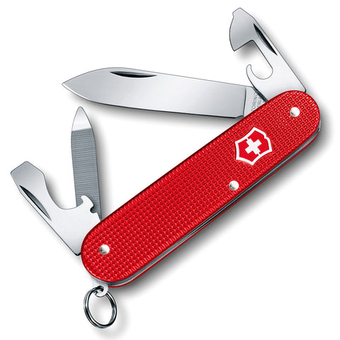 VICTORINOX Cadet 84mm Alox Berry Red Pocket Knife (0.2601.L18)