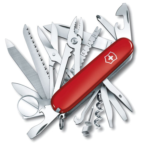 VICTORINOX SwissChamp 91mm Red Pocket Knife 56501-CLAM