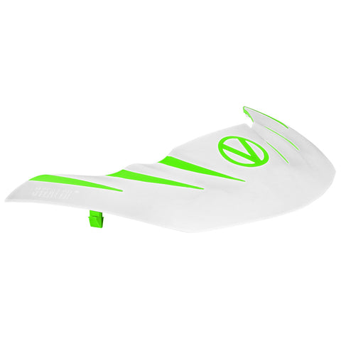 VIRTUE PAINTBALL Virtue Lime/White Stealth Visor (2055)