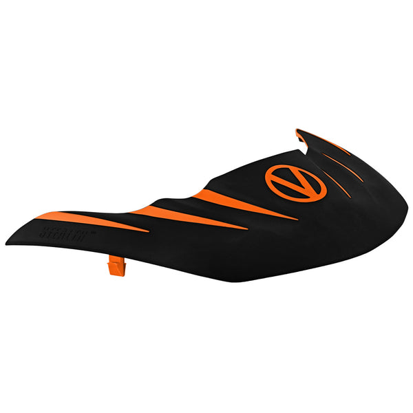 VIRTUE PAINTBALL Virtue Orange/Black Stealth Visor (2056)