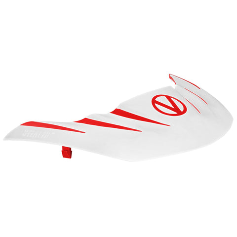 VIRTUE PAINTBALL Virtue Red/White Stealth Visor (2062)