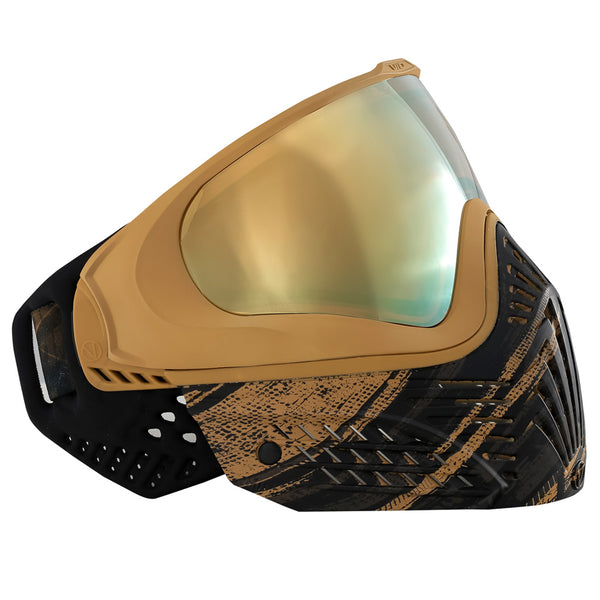 VIRTUE PAINTBALL Virtue VIO Extend Graphic Gold Paintball Goggle (2155)