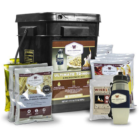 WISE FOOD Ultimate Emergency 72 Hour Kit for 2 People (05-715)