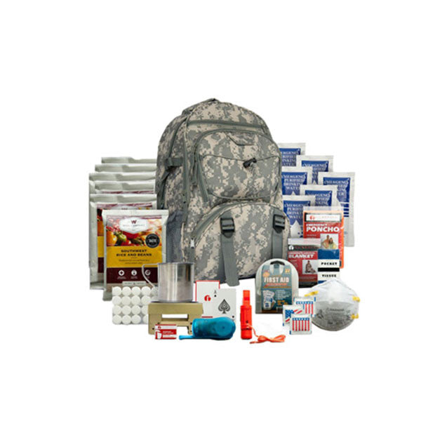 WISE FOODS Five Day Survival Backpack For One Person (01-622GSGCAMO)