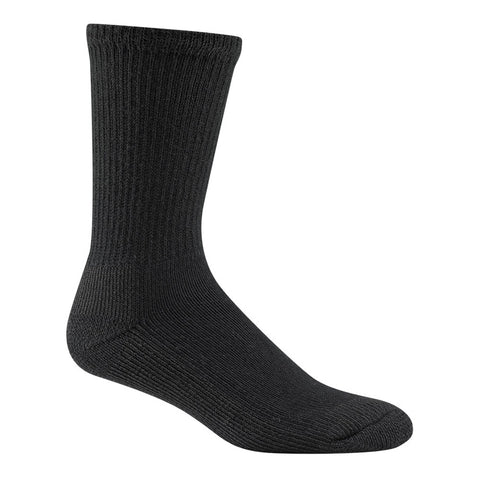 WIGWAM At Work Steel Toe Black Socks F1140-052