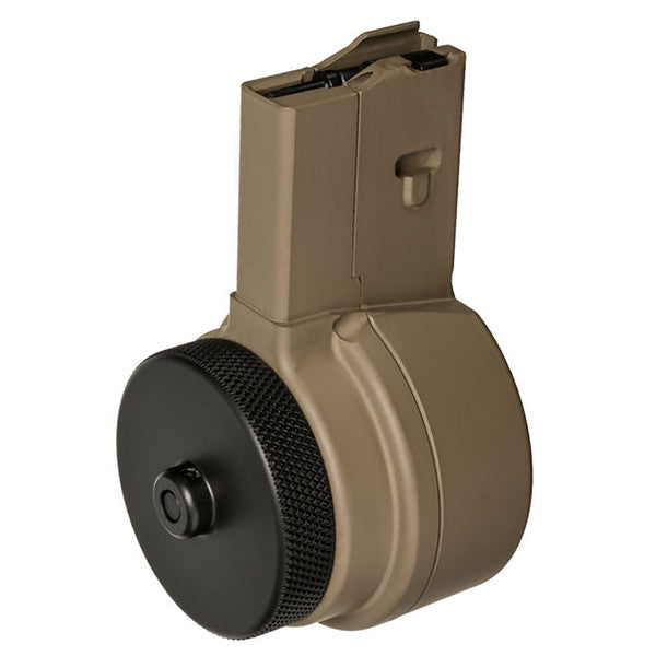 X PRODUCTS X15 AR15 Drum Magazine, FDE Finish (X15-M223-FDE)