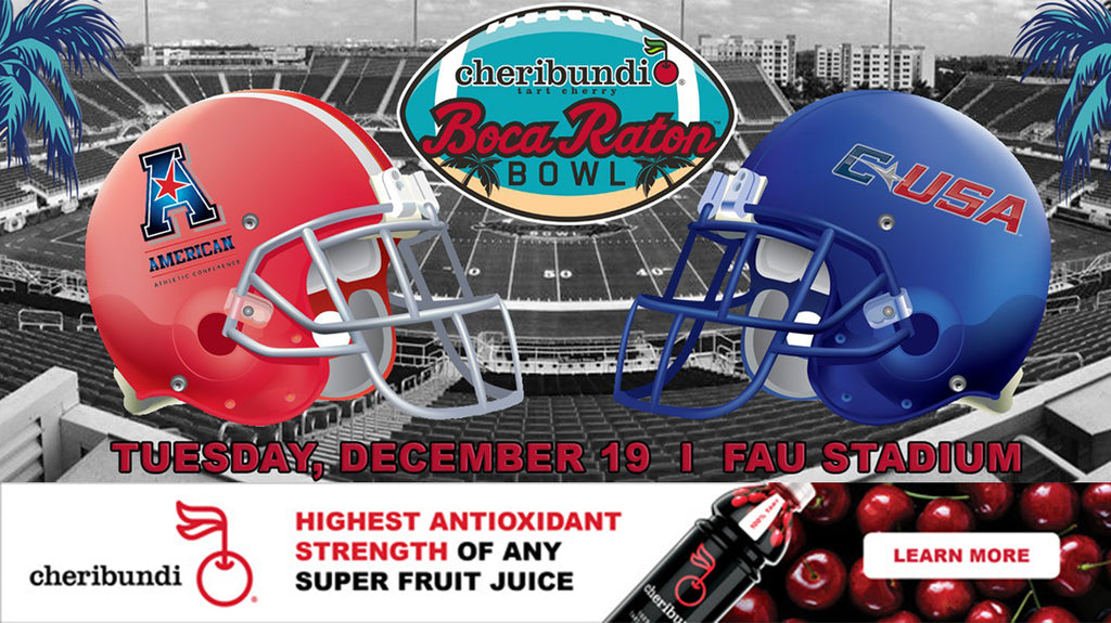 Boca Raton Bowl Announces Cheribundi as the New Title Sponsor