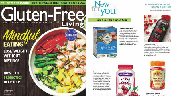 gluten free living cover