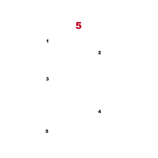 the 5 steps illustration
