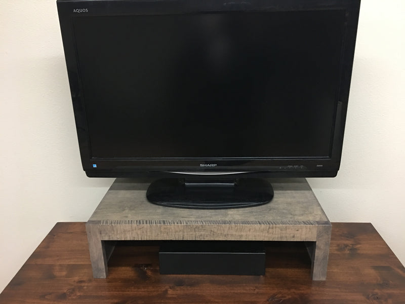 Maple Urban Modern TV Riser Stand
