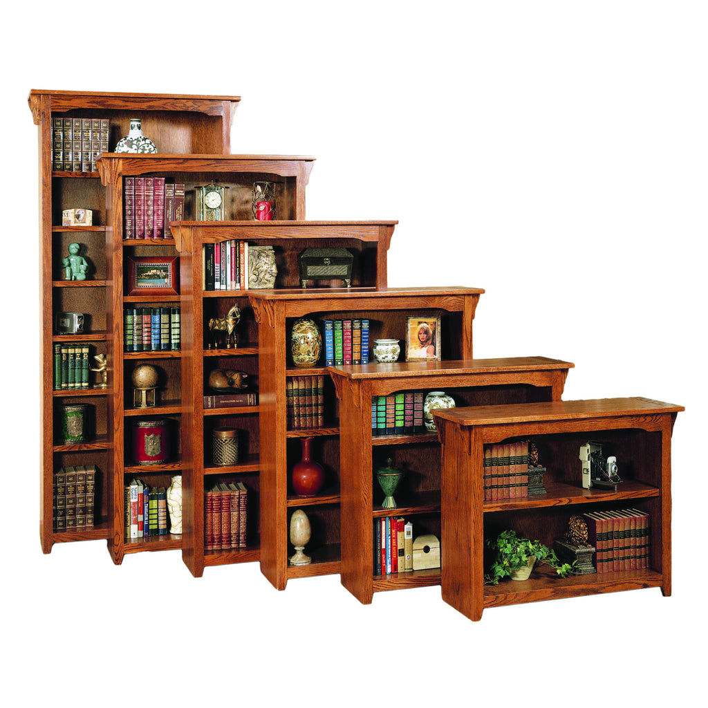 "American Mission Oak 36""W Standard Bookcase"